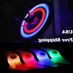 Safe Colorful Bikes Bicycle Cycling Spoke Wire Tire Tyre Whe