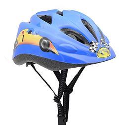 BeBeFun Safety Adjustable children and Kids Helmet with Elbo