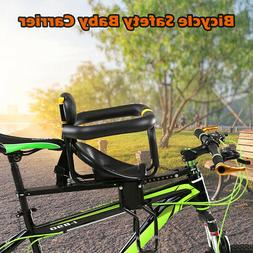 Safety Bike Front Baby Seat Kids Saddle with Foot Pedals for