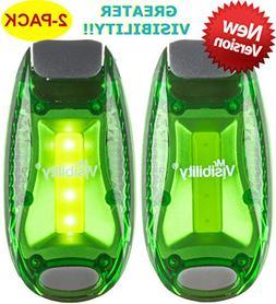 LED Safety Light  + Bonuses New Version   Clip On Strobe/Run