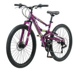 "Mongoose Saga 26"" Women's Mountain Bike-Purple"