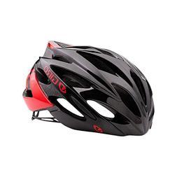 Giro Savant Road Bike Helmet, Bright Red/Black, Small