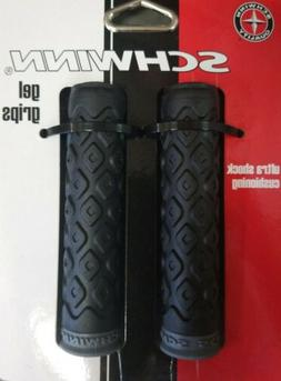 SCHWINN RED//BLACK BICYCLE HANDLEBAR GRIPS BIKE PARTS 554
