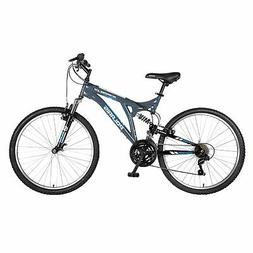 Polaris Scrambler Full Suspension Mountain Bike, 26 inch Whe