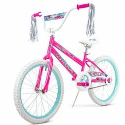 """20"""" Huffy Girls' Sea Star Bike, Pink"""