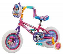 Girls 12 inch Mongoose Shimmer and Shine Bike