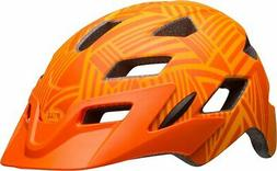 Bell Sidetrack Helmet - Kids' Matte Tang/Orange Seeker, One