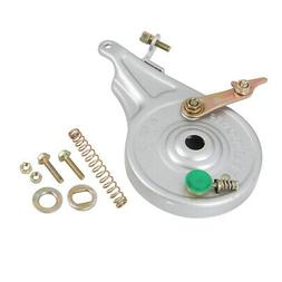 Universal Silver Tone Rear Wheel Brake Drum for Electric Scooter Bike Bicycle