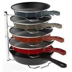 SimpleHouseware Kitchen Cabinet Pantry Pan and Pot Lid Organ