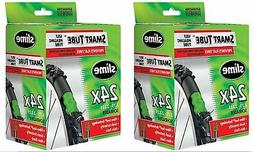 Slime Smart Tube Schrader Valve Bicycle Tube , 2 Pack