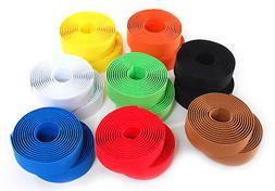 Solid Color Foam Bike Handlebar Bar Tape Road / Fixed Gear