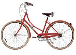 Papillionaire Sommer 3 Speed Vintage City Bike, Boston Red,