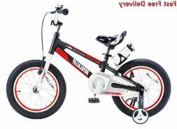 Royalbaby Space No. 1 Aluminum Kid's Bike, 12-14-16-18 inch
