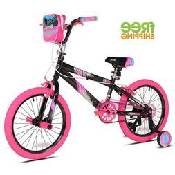 """Kent Sparkles 18"""" Bike Great Christmas Gift for Girls Oversi"""