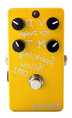 BearFoot FX Sparkling Yellow Overdrive 1 Pedal