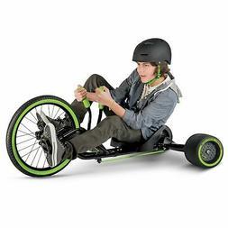 """NEW Spin Slide Drift Trike - Boys/Girls - 20"""" Huffy Green Ma"""