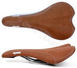 Charge Spoon Bike Saddle Brown CrMo Rails Pressure Relief Li