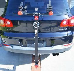 Allen Sports Deluxe Hitch Mounted Bike Rack Locking 2 Bike 2