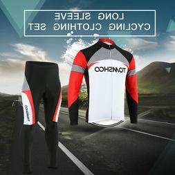 Spring Cycling Bike Long Sleeve Clothing Set Bicycle Men's J