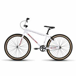 """Redline Bikes Sqb-26 BMX Bike with 26"""" Wheels, White"""