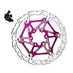 Ultralight Aican Bike Floating Disc Brake Rotor 160mm 75g!