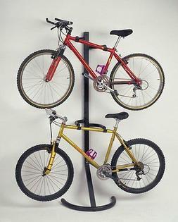 2 Bike Stand Storage Rack Wall Mount Space Saving Garage Fre