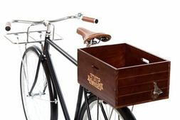 Wooden City Bike Crate State Bicycle Co Rear