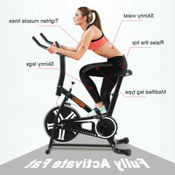 Stationary Indoor Exercise Bike Cycling Fitness Cardio Train