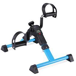 MOMODA Stationary Pedal Exerciser Desk Cycle Exercise Bike w