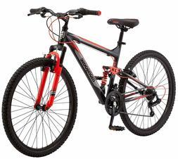 """Mongoose Status 2.2 Mountain Bike 26"""" Wheel Men's bicycle"""
