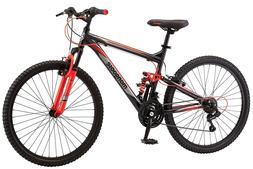 Mongoose Status 2.2 Mountain Bike 26quot Wheel Men's bicycle