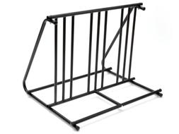 HD Steel 1-6 Bikes Floor Mount Bicycle Park Storage Parking