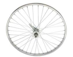 "26"" x 1.75"" Steel Coaster Wheel 12G Chrome. Bicycle wheel, b"