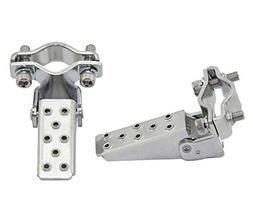 Alta Steel Foldable Fork Step Pegs in Chrome
