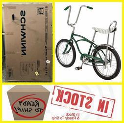 ✅ Schwinn Sting-Ray Bicycle ✅ GREEN ✅ Brand New In Box