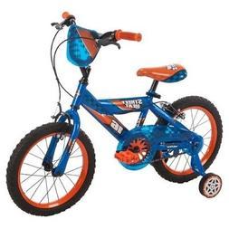 Kids Huffy Street Heat Cruiser 16 Bike - Blue NEW