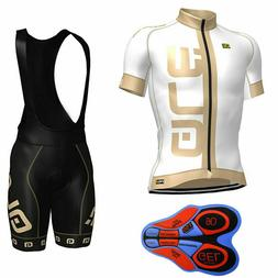 summer hot sale men cycling short sleeve Jersey bib shorts s