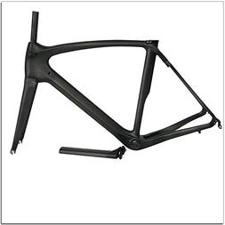 Fasteam UD Matt BB386 Carbon Frame for Road Bicycle with Ful