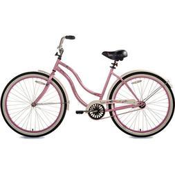 """26"""" Susan G. Komen, Cruiser Single-Speed, Women's Bike, Pink"""