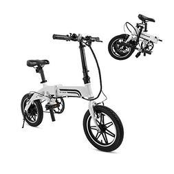 Swagtron Swagcycle EB-5 Lightweight & Aluminum Folding Ebike