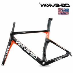 T1000 UD Carbon Bicycle Frame 700C Carbon Road Bike Frame BS