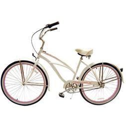 """Tahiti NX3 3 Speed 26"""" Women's Beach Cruiser Bike"""
