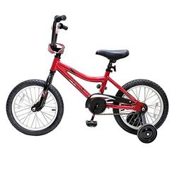 Piranha 16-inch Tailspin Boys Bike - Red
