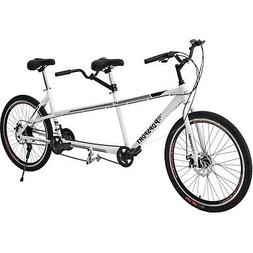 "Tandem Bike 20"" Bicycle 21 Speed Shimano Aluminum Frame Gray"