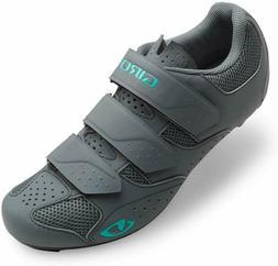 Giro Techne Cycling Shoes - Women's Titanium/Glacier 42