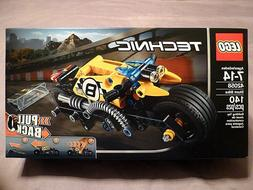 LEGO Technic Stunt Bike Model Racing Motorcycle Vehicle Buil