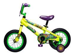 """Teenage Mutant Ninja Turtles Boy's Bicycle, Yellow, 12"""""""