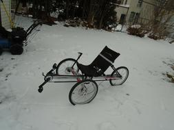 Terra trike Rover  three wheel recumbent bike