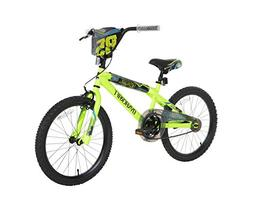 "Dynacraft Boys Thorax Bike, Neon Green/Black/Blue, 20""/One S"