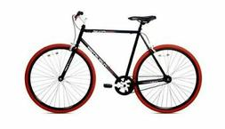 0f17c88ca09 Thruster 700C Urban Fixie Bike Black / R..